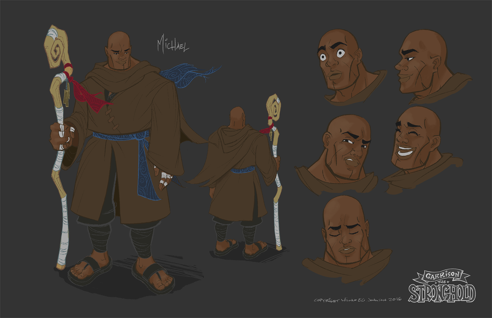 Michael – Character Design